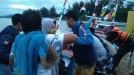 200 Pengunjung yang Terjebak di Pulau Angso Duo Sudah Dievakuasi