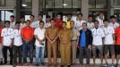 Wakil Wali Kota Payakumbuh Erwin Yunaz Melepas Persepak Divisi III
