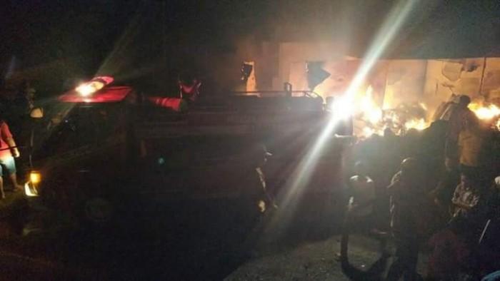 Pasar Palembayah, yang terbakar beberapa waktu lalu akan dibangun kembali