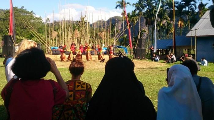 Festival Seni dan Budaya yang bertajuk Pasa Harau & Art Culture Festival sudah diawali sejak Jumat (13/7/2018)