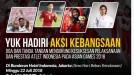 Sukseskan Asian Games, Komunikonten Gelar Aksi Kebangsaan