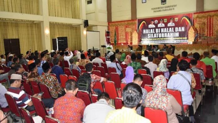 Suasana halal bi halal PKDP Sumbar