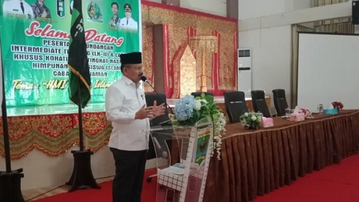 Himpunan Mahasiswa Islam Pariaman mendukung penuh program Bupati Padang Pariaman Ali Mukhni khususnya pembangunan kawasan Pendidikan Terpadu Tarok City.