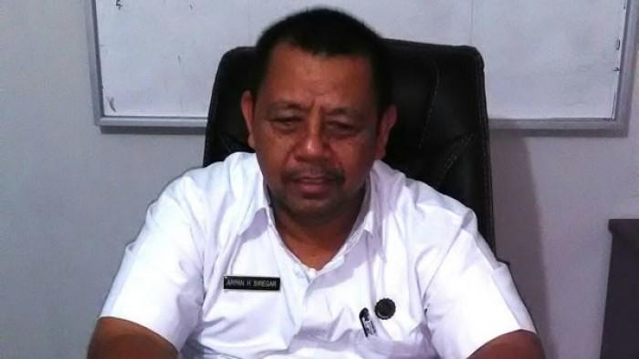 Kepala Bagian Layanan Pengadaan (BLP) Pemkab Pasaman Barat Arpan Siregar