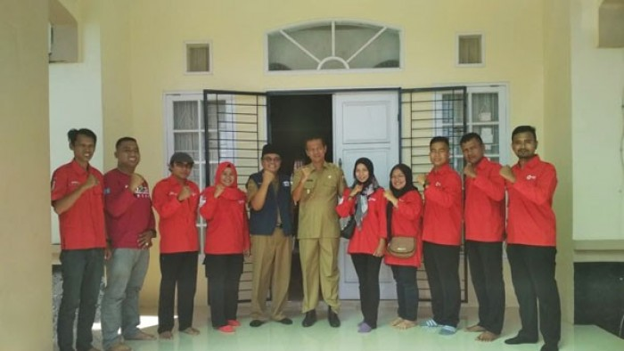 Relawan PMI Kota Pariaman Bertolak Menuju TKRN Purwakarta