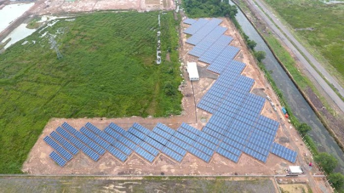 Mega Solar Plant in Jakabaring Sports City, Indonesia