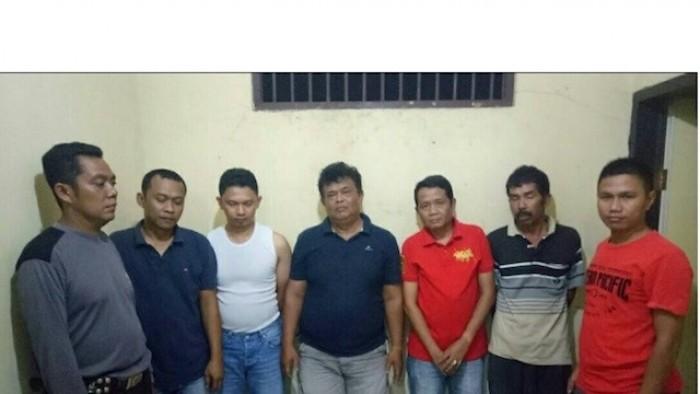 "Lima ASN diamankan Tim Opsnal Polsek Lunang sedang asyik berjudi ""song"""