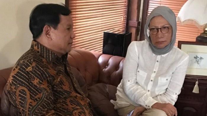 Ratna Sarumpaet dan Prabowo