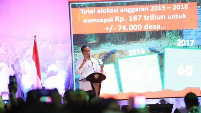 Presiden Republik Indonesia Joko Widodo ?(Jokowi) meminta dana desa yang disalurkan pemerintah, dapat menciptakan pemberdayaan ekonomi masyarakat di desa