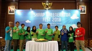 SHARP Greenerator Fest 2018 Ajak Anak Muda untuk Lestarikan Lingkungan