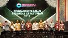 Bupati Ali Mukhni Terima Penghargaan dari Ombudsman RI
